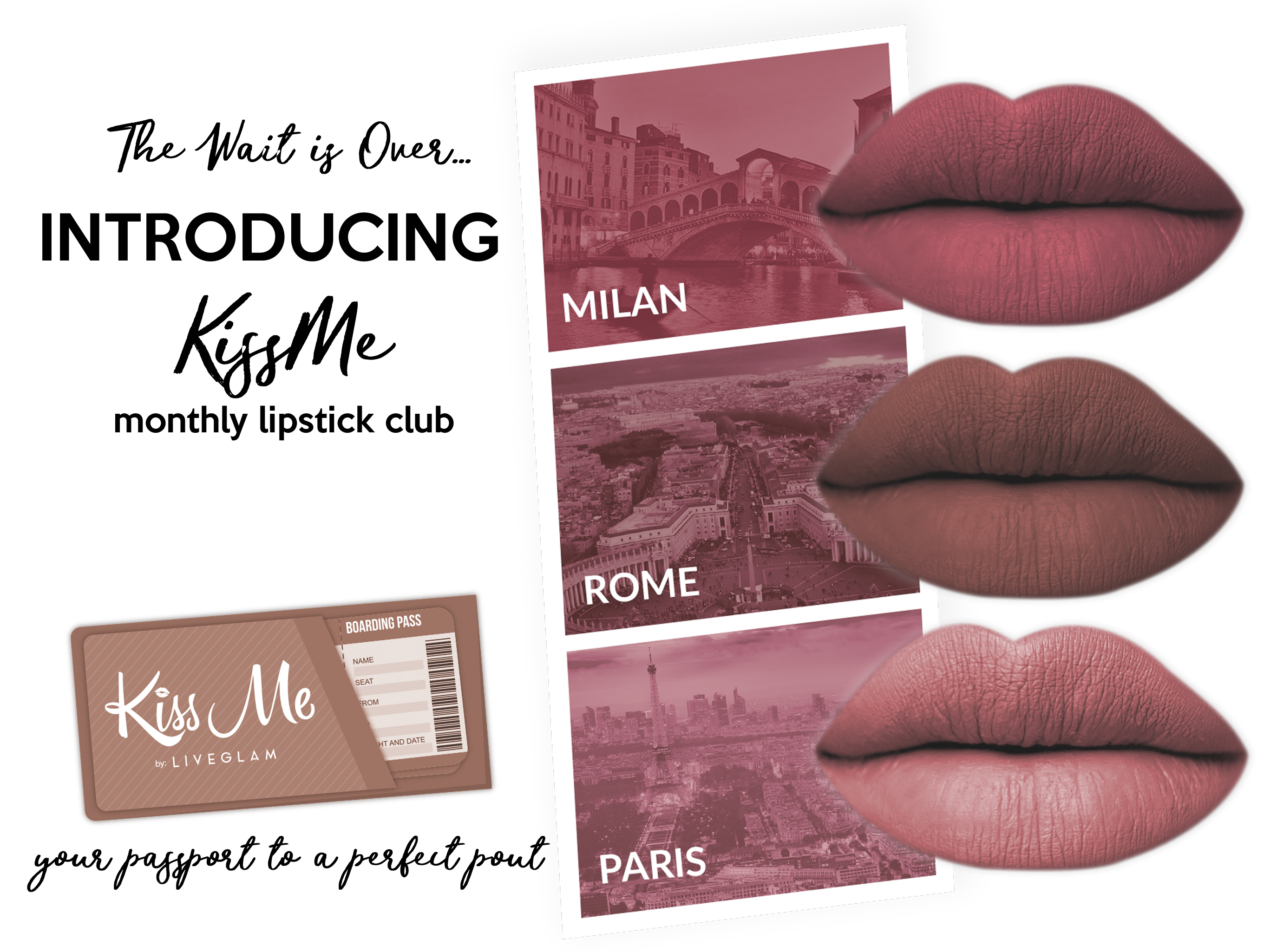 Take Me Away with April KissMe Collection!