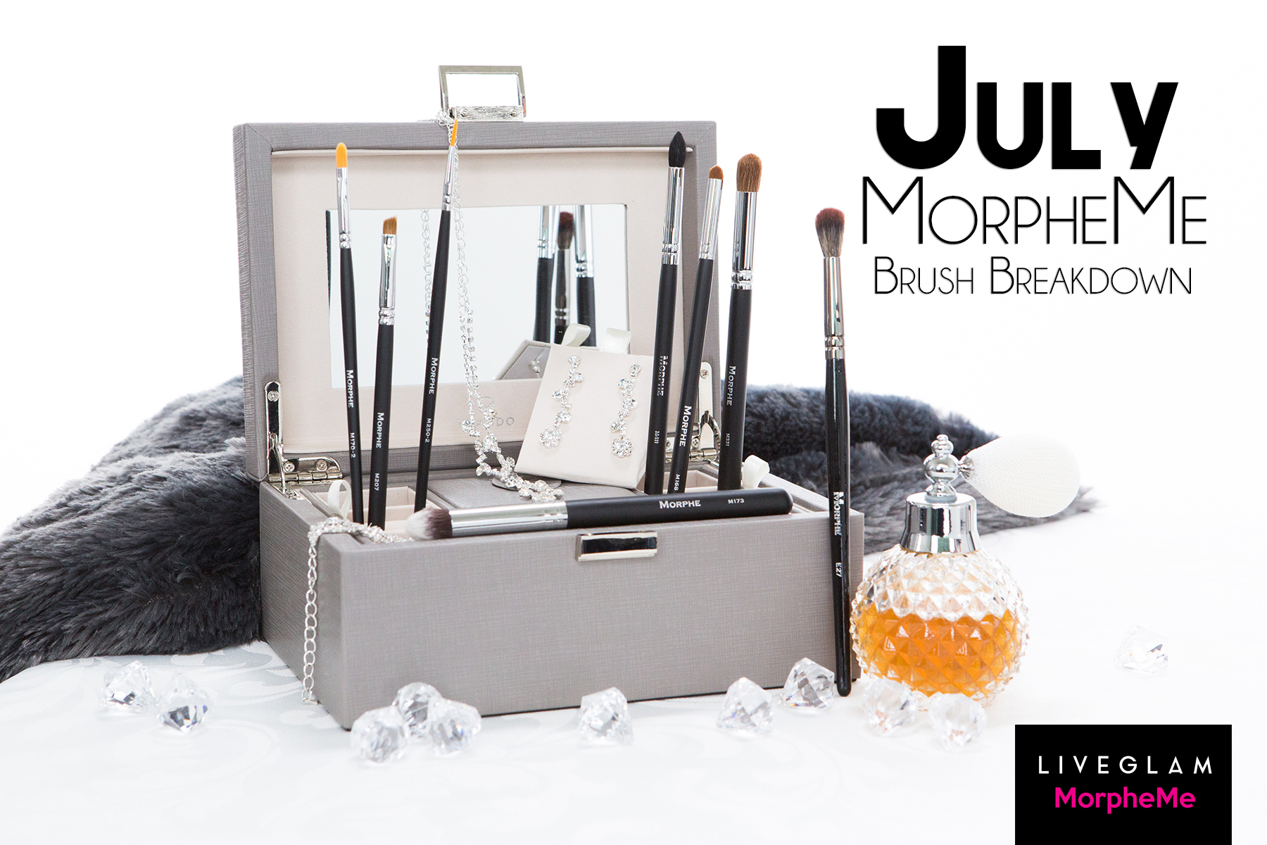 July MorpheMe Brush Breakdown!