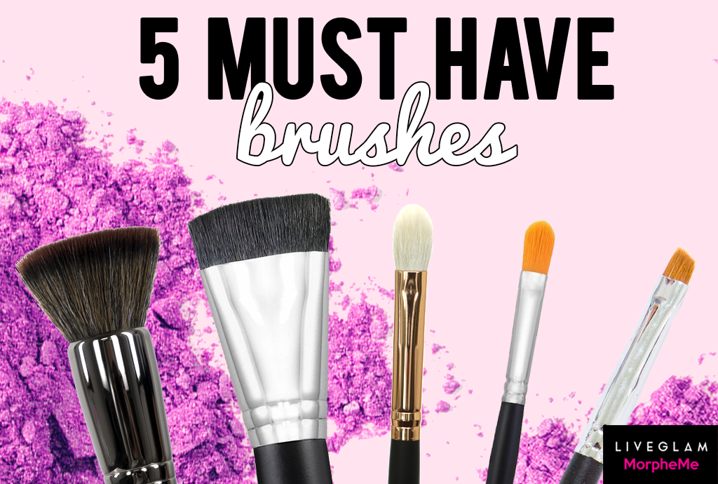 5 Must Have Brushes for the Perfect Makeup Kit