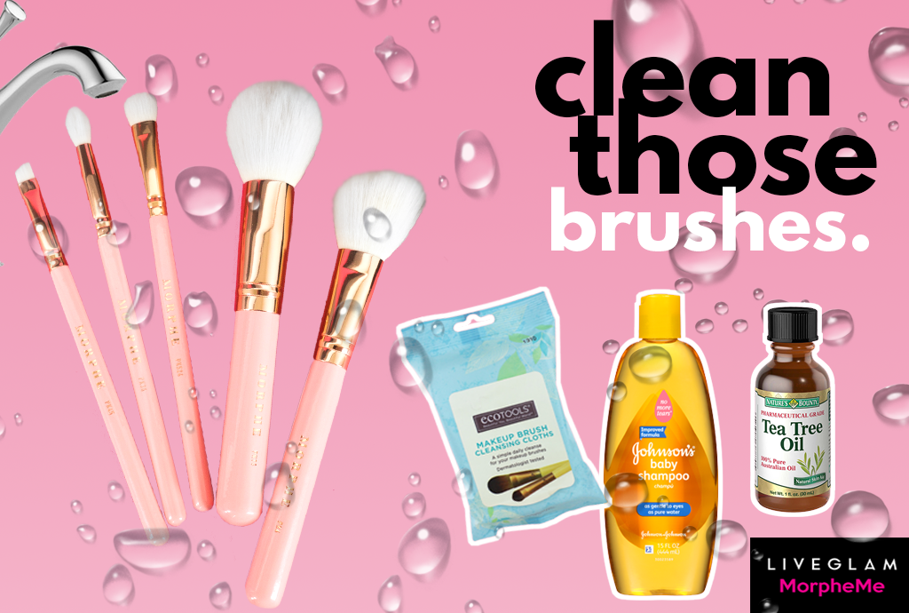 Can you use baby shampoo to clean your makeup brushes