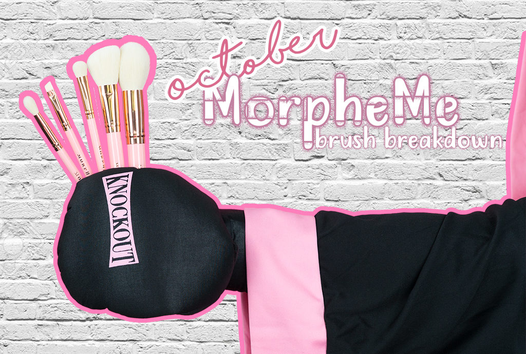 October LiveGlam Brush Club MorpheMe Brush Breakdown