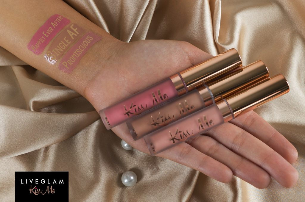 Get Nude! Last Call for LiveGlam KissMe September Lippies