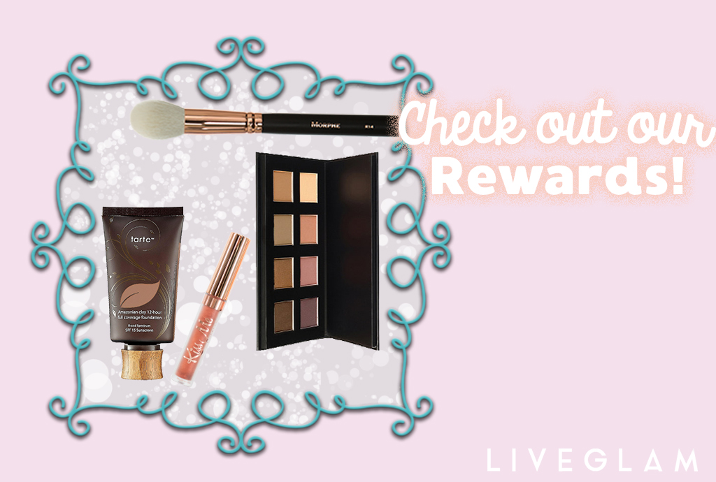 Check Out Our LiveGlam Rewards for Free Makeup!