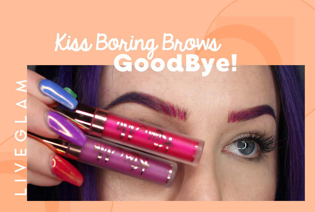 Kissing up some Unicorn Brows!