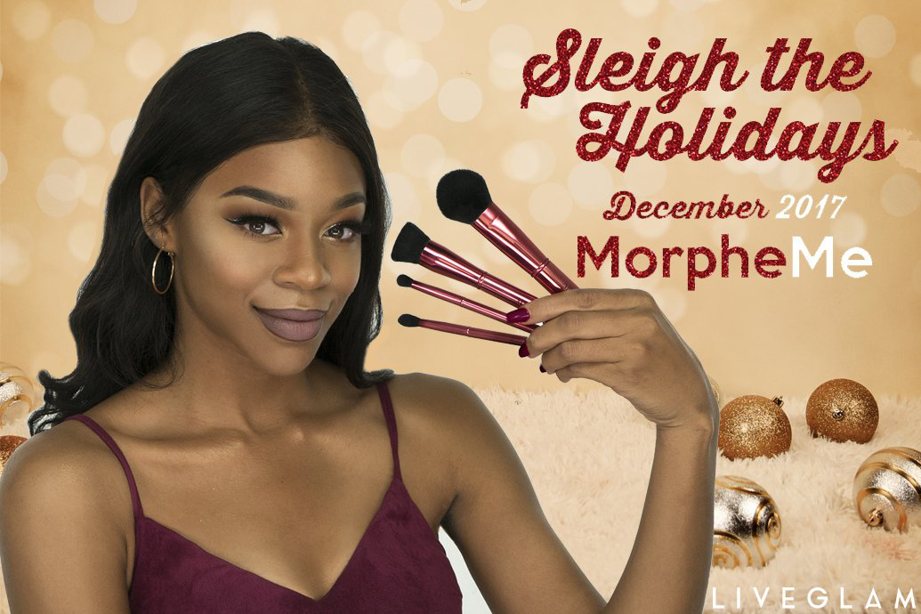 Sleigh the Holidays December 2017 MorpheMe Brushes