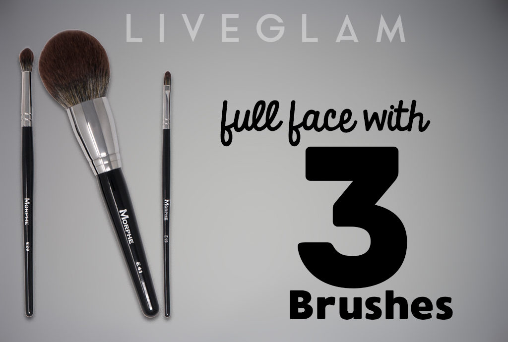 Full Face with LiveGlam MorpheMe November Brushes
