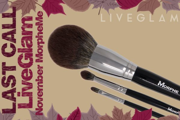 Last Call to See What's Cookin' with November LiveGlam MorpheMe!