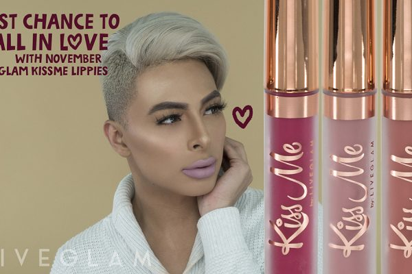 Don't Miss Out on Love! Last Chance for November LiveGlam KissMe Lippies