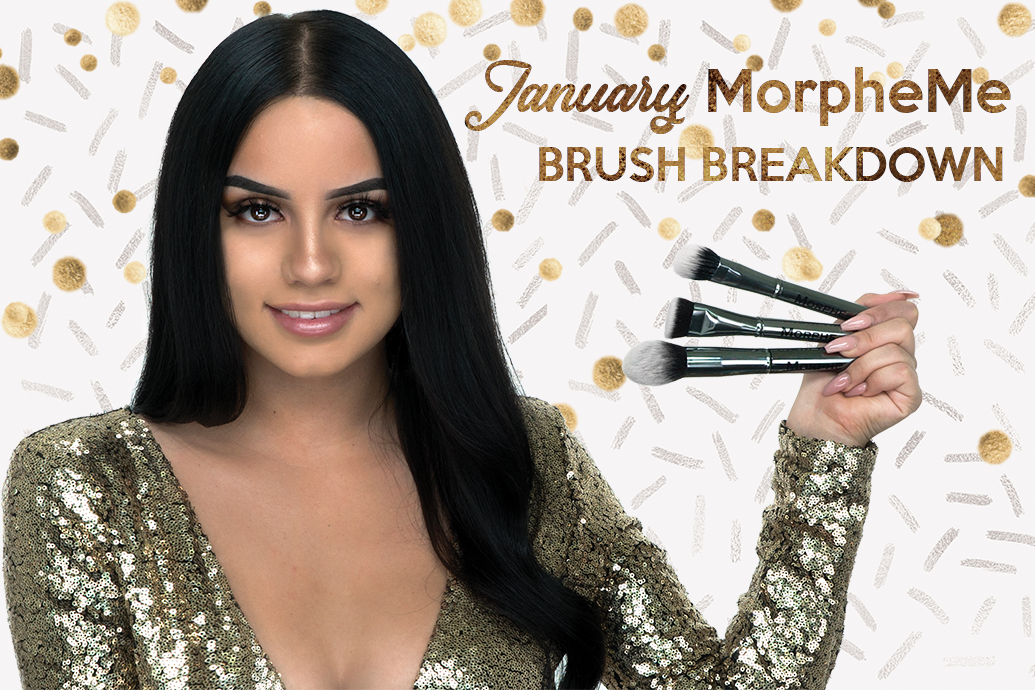 January LiveGlam MorpheMe Brush Breakdown