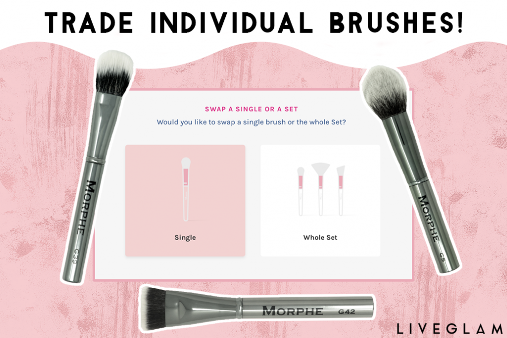 NEW FEATURE: Trade Individual MorpheMe Brushes!