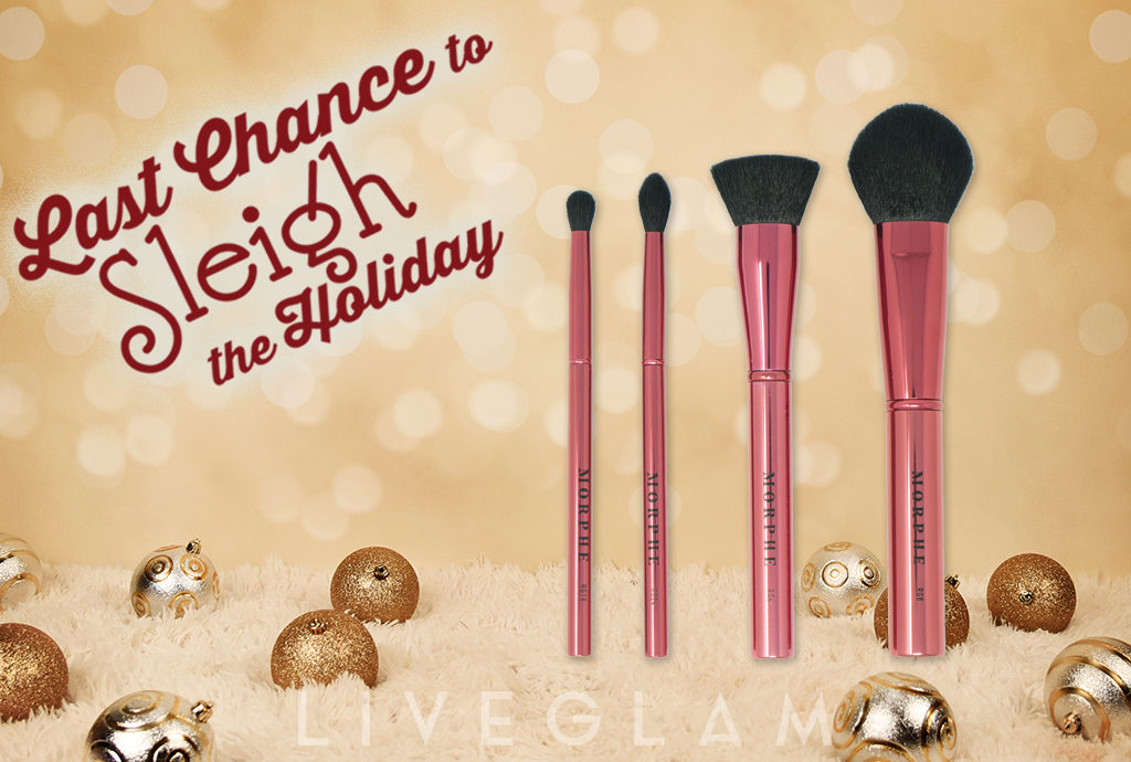 Last Chance to Sleigh the Holiday with December LiveGlam MorpheMe