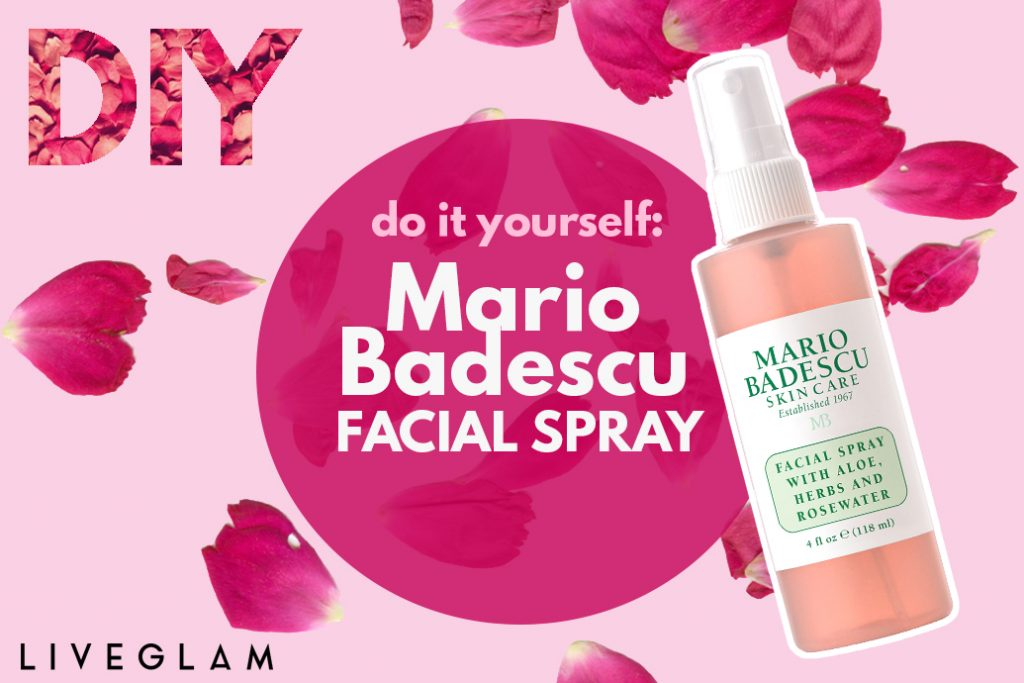 DIY Mario Badescu Facial Spray