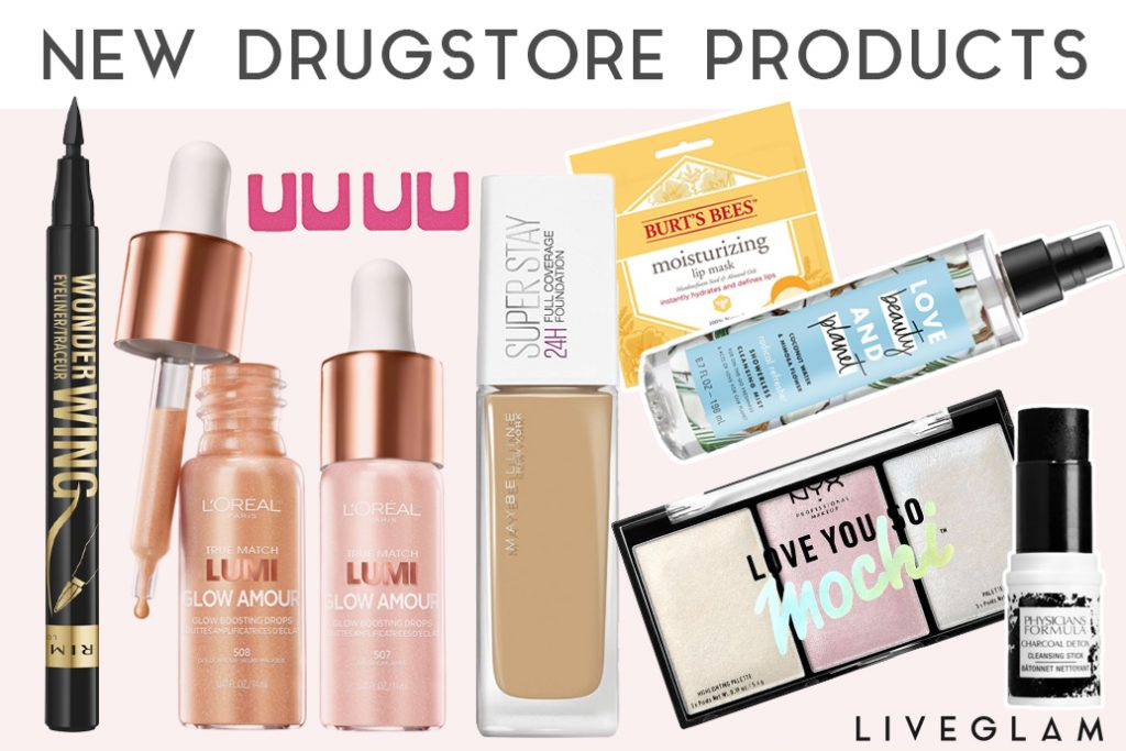 10 New Drugstore Products for 2018