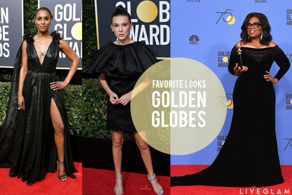 Our Favorite Looks from the 2018 Golden Globes