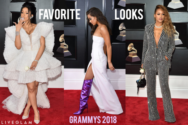 Our Favorite Looks from the Grammys 2018