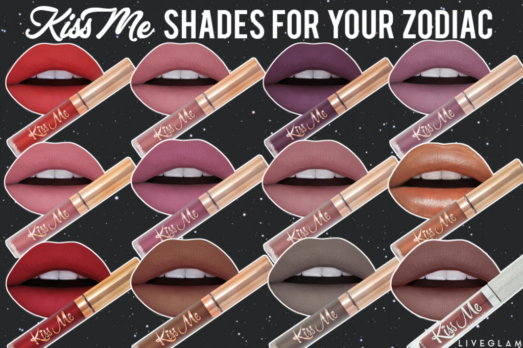 Which LiveGlam KissMe Shade Aligns with your Zodiac?