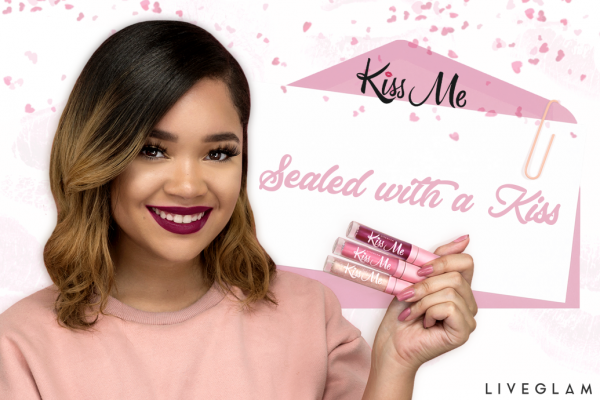 Our February LiveGlam KissMe Lippies are Sealed with a Kiss!