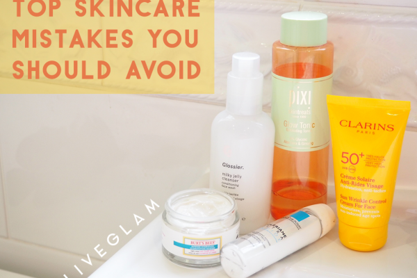 The top 10 Skincare Mistakes You Should Be Avoiding