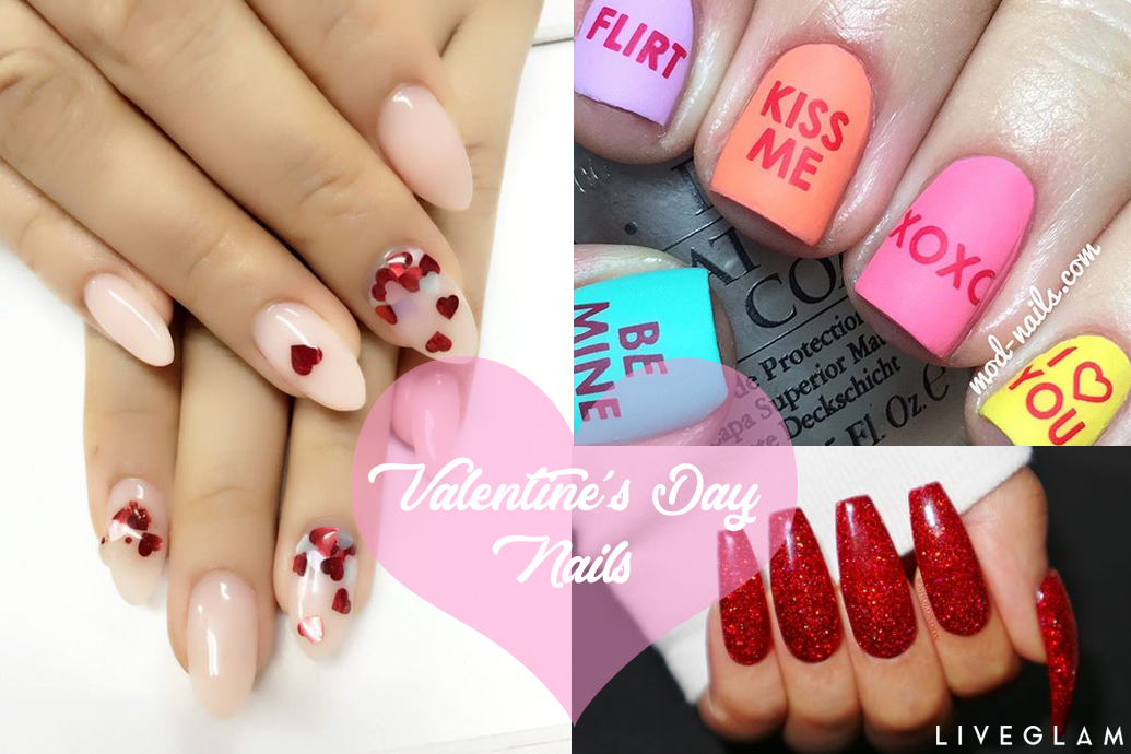 6 Easy Valentine's Day Manicures
