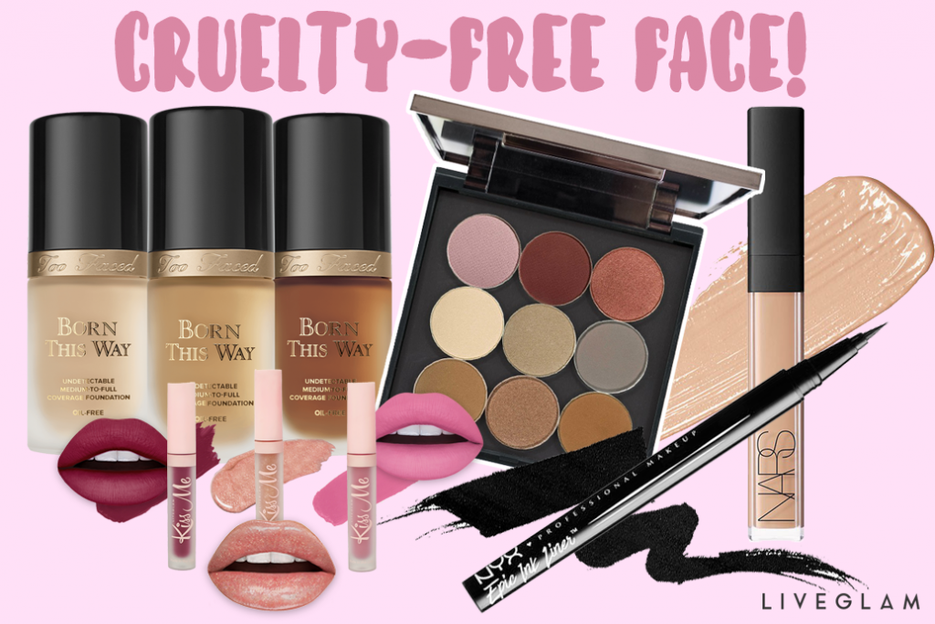 Best Beauty Products for a Cruelty-Free Face!
