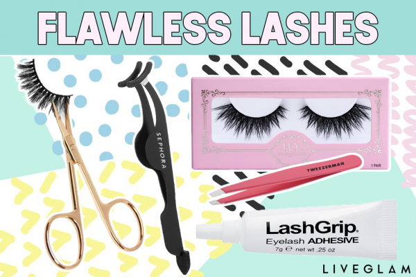 How to Flawlessly Apply False Lashes