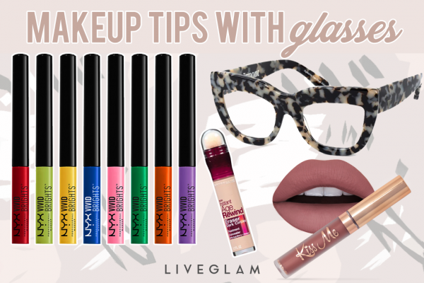 8 Makeup Tips for those who Wear Glasses