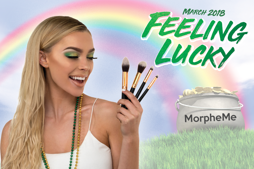 MorpheMe March 2018 Feeling Lucky