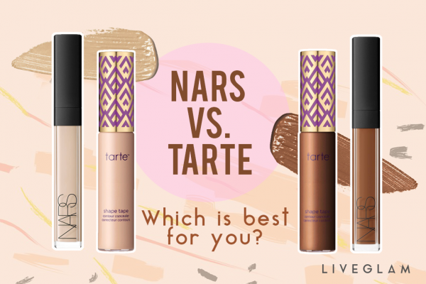 Nars Radiant Creamy Concealer vs. Tarte Shape Tape: Who wins?
