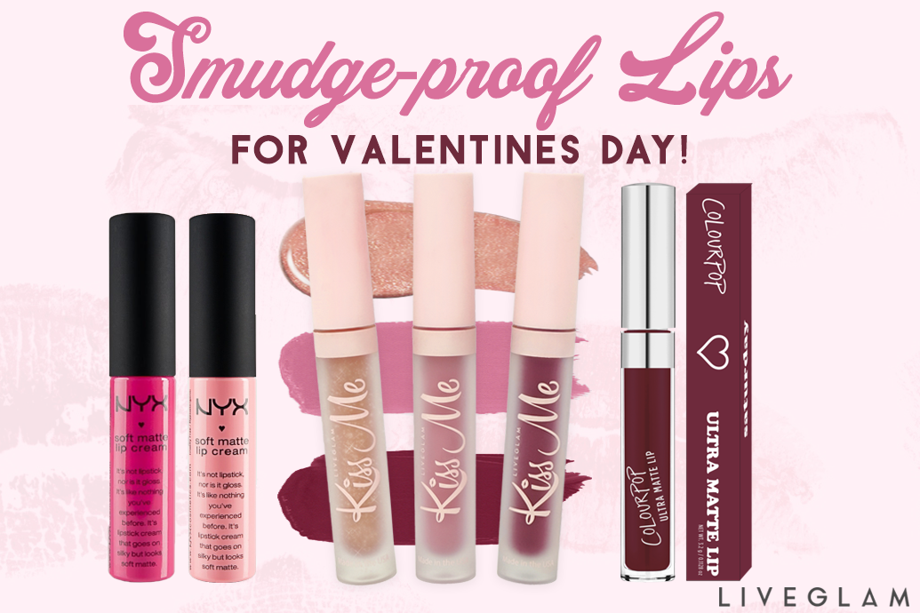 Smudge-Proof Lipsticks for Valentine's Day