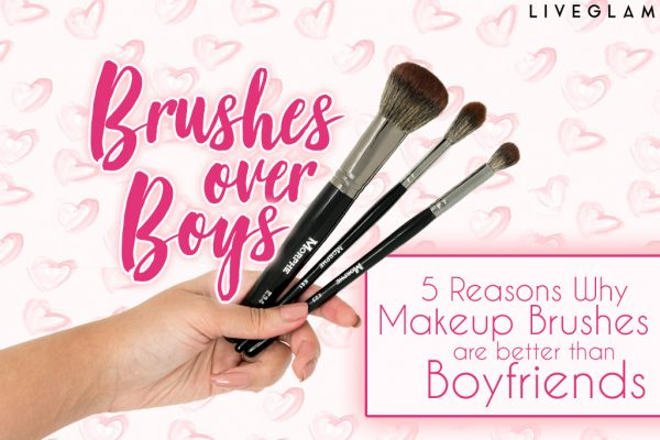 Why Makeup Brushes are Better than a BF