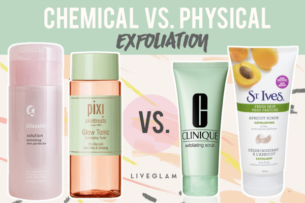 Chemical vs. Physical Exfoliators