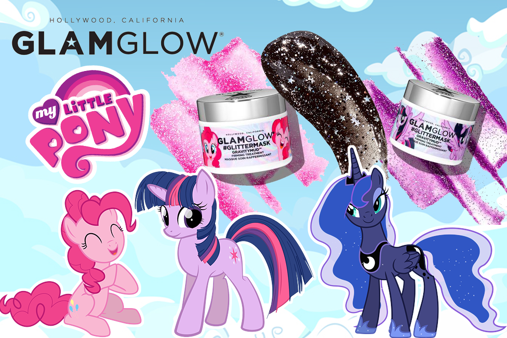 Glamglow x My Little Pony Glitter Mask Review