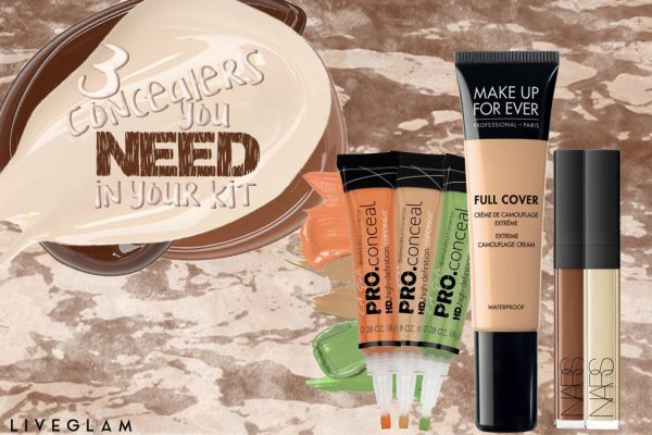 3 Concealers You Need in Your Kit