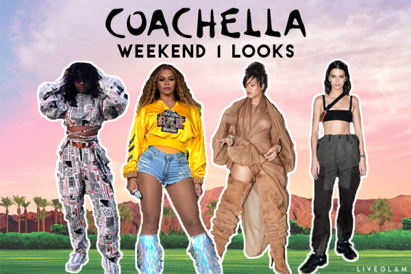 Celebrity Looks from Coachella: Weekend 1