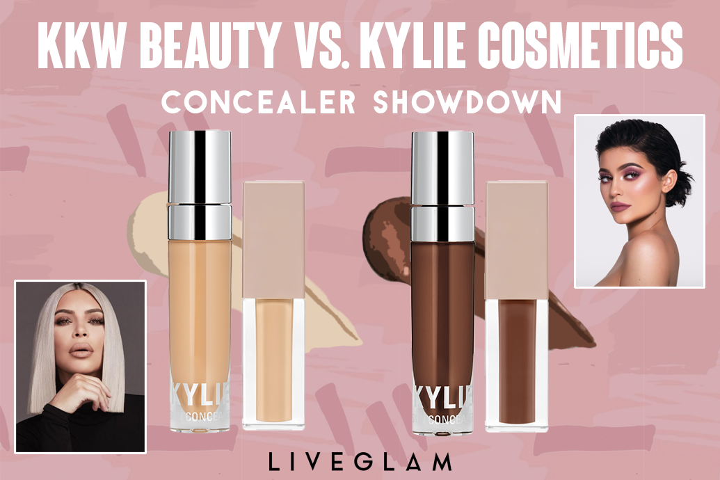 KKW Beauty vs. Kylie Cosmetics Concealer: Which is Better?!