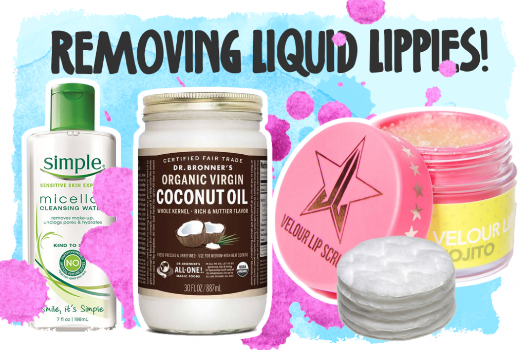 The Best Ways to Remove Liquid Lipstick!