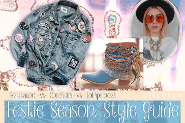 Coachella -v- Bonnaroo -v- Lollapalooza: Music Festival Fashion Look Book!