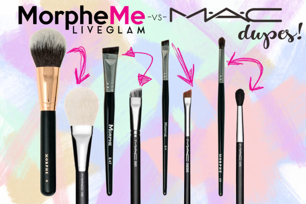 MAC vs. MorpheMe: April Brush Dupes!