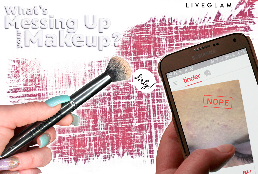 What's messing up your makeup?