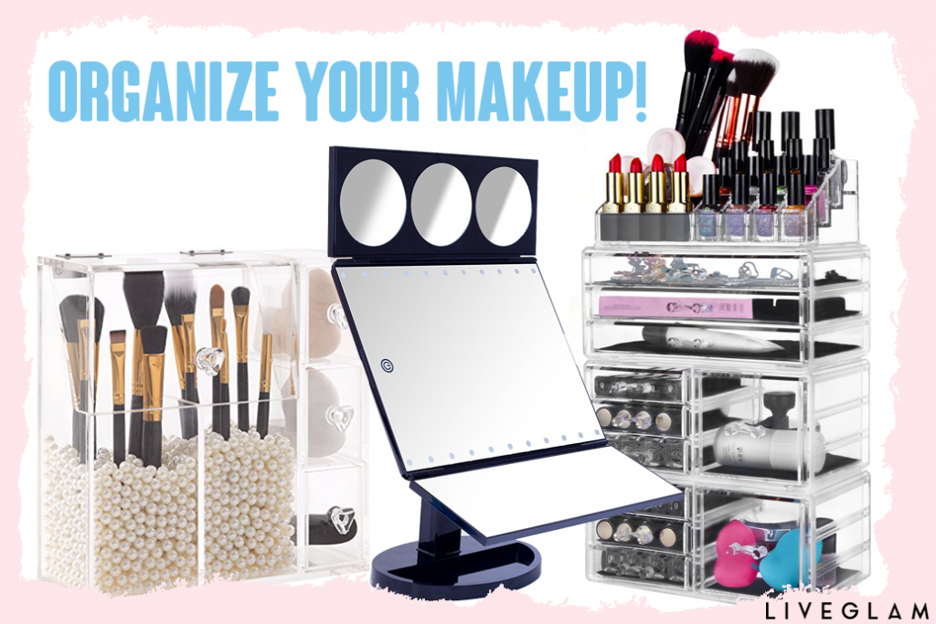How to Tidy Up Your Makeup Vanity