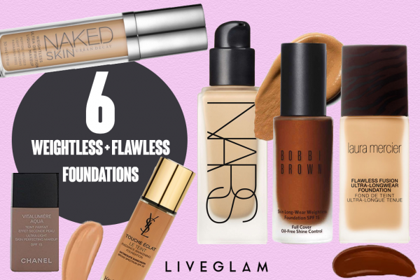 6 Weightless but Flawless Foundations