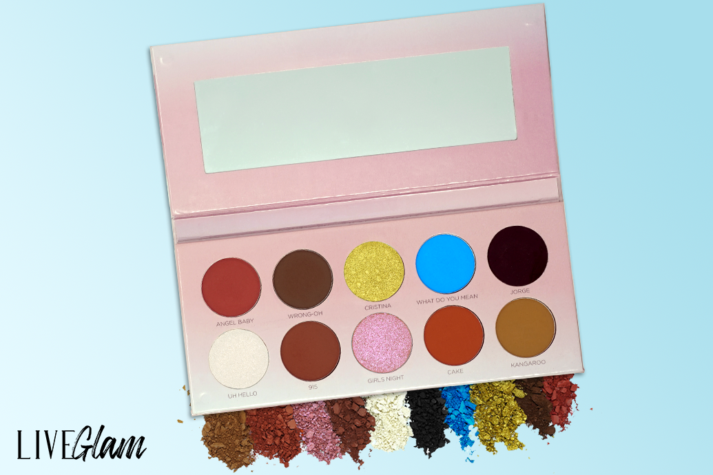 Les Do Makeup LiveGlam eyeshadow palette collabs