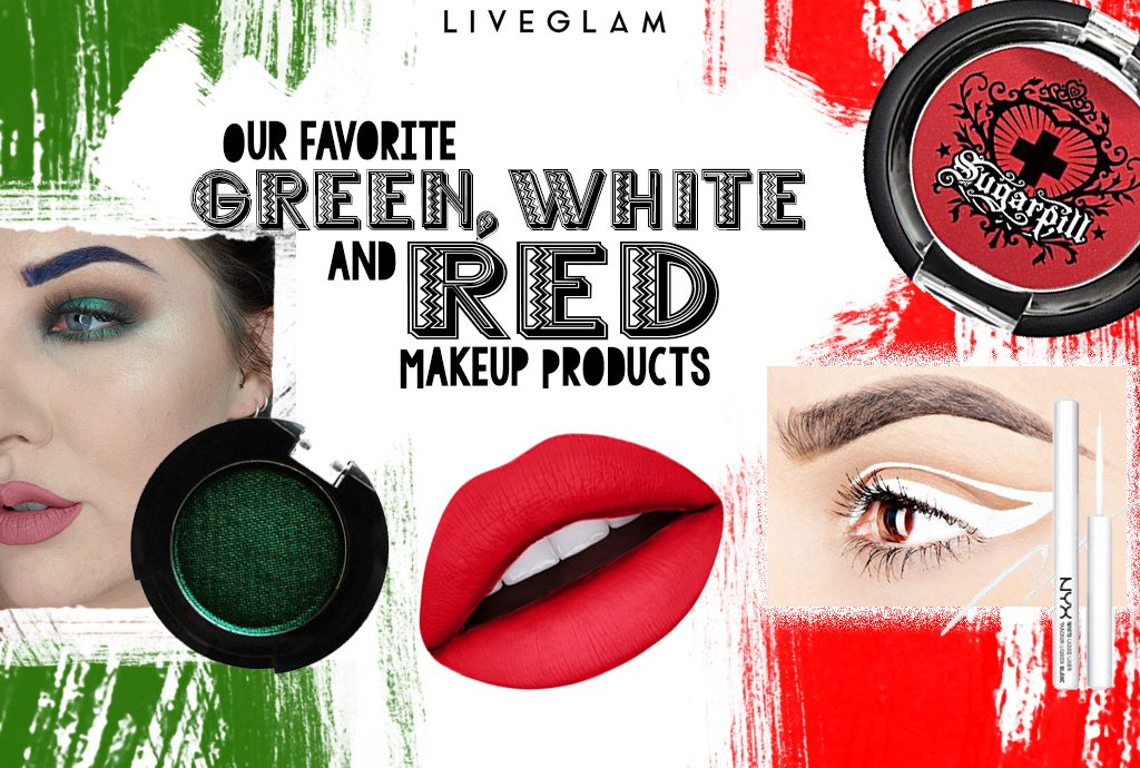 Cinco De Maquillaje- Our Favorite Green, White, and Red Makeup!