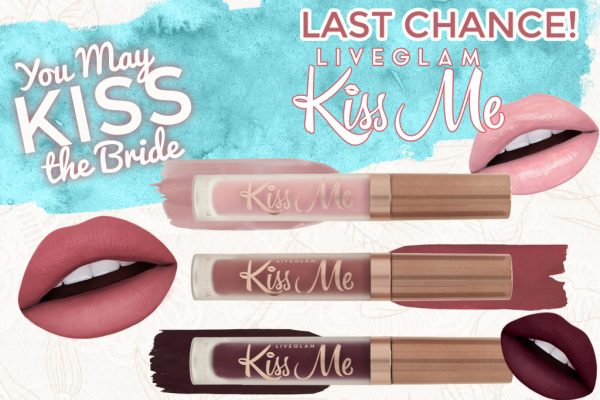 Last Chance for May LiveGlam KissMe lippies!