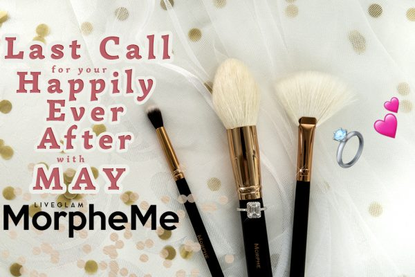 Last Chance to get May LiveGlam MorpheMe brushes!