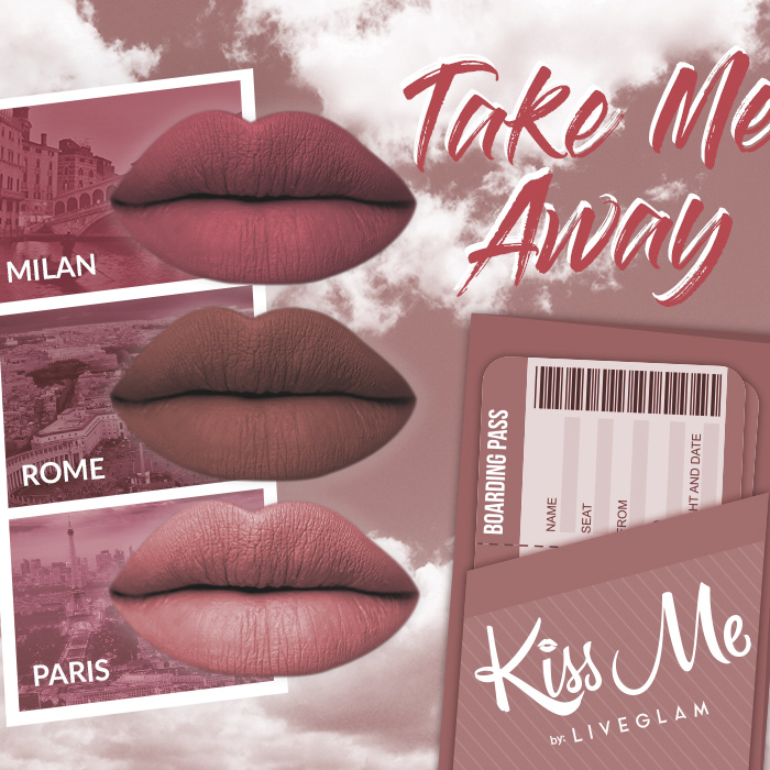 KissMe Lippies - Take Me Away
