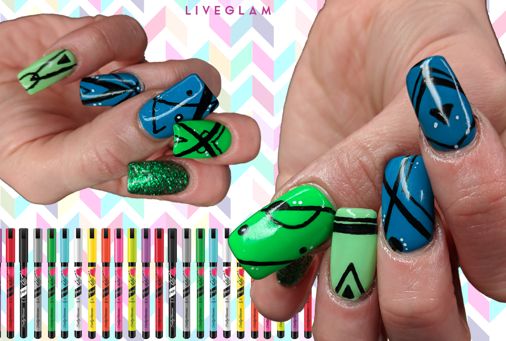 Glam Up Your Mani In 30 Minutes Or Less Liveglam