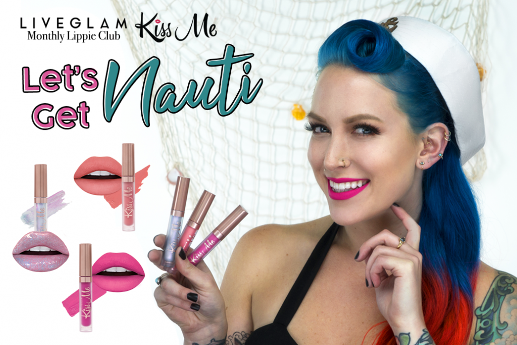 Get Nauti with our July LiveGlam KissMe Shades!