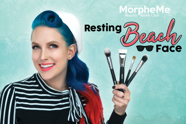 July LiveGlam MorpheMe Brush Breakdown 2018