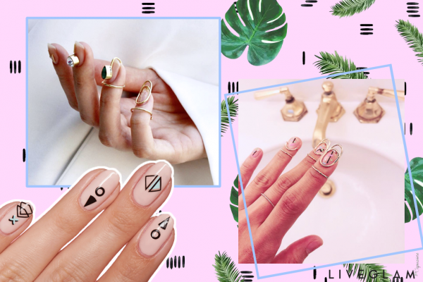 Stop what you're doing: You need this Nail Bling in your life.